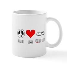 Peace Love McDreamy Mug