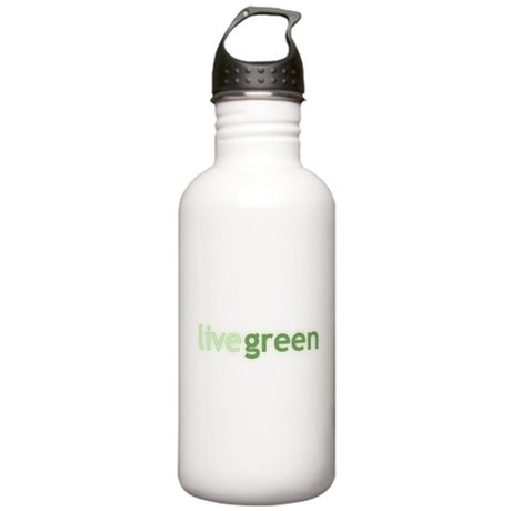 Live Green Stainless Water Bottle 1.0L