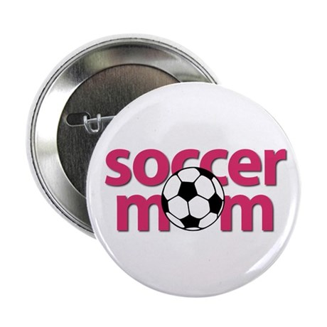 """Soccer Mom 2.25"""" Button (10 pack)"""
