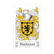 Buchanan Sticker (Rectangular)