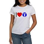 DOT ARTS Custom Monograms Women's T-Shirt