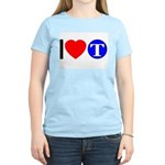 DOT ARTS Custom Monograms Women's Light T-Shirt