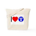 DOT ARTS Custom Monograms Tote Bag