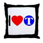 DOT ARTS Custom Monograms Throw Pillow