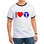 DOT ARTS Custom Monograms Ringer T