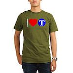 DOT ARTS Custom Monograms Organic Men's T-Shirt (d