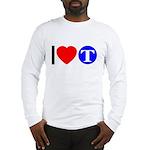 DOT ARTS Custom Monograms Long Sleeve T-Shirt