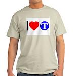 DOT ARTS Custom Monograms Light T-Shirt
