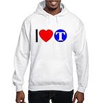 DOT ARTS Custom Monograms Hooded Sweatshirt