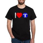 DOT ARTS Custom Monograms Dark T-Shirt
