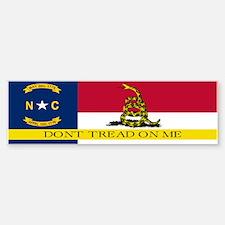 Dont Tread on Me North Caroli Bumper Bumper Sticker