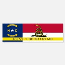 Dont Tread on Me North Caroli Sticker (Bumper)