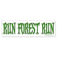 Run Forrest Run! Bumper Bumper Bumper Sticker