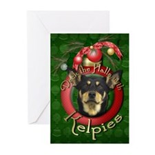 Christmas - Deck the Halls - Kelpies Greeting Card