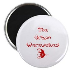 "Urban Werewolves 2.25"" Magnet (100 pack)"