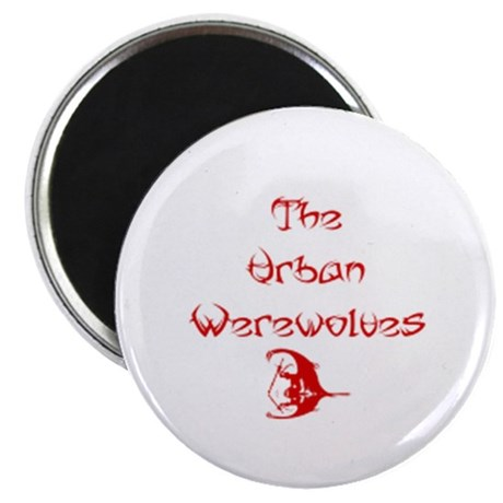 "Urban Werewolves 2.25"" Magnet (10 pack)"