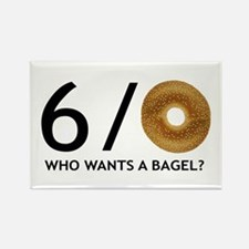 Who Wants A Bagel Fridge Magnet