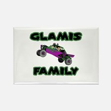 Glamis Family Rectangle Magnet