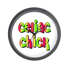 Celiac Chicks Wall Clock