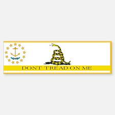 Don't Tread on Me Rhode Islan Bumper Bumper Sticker
