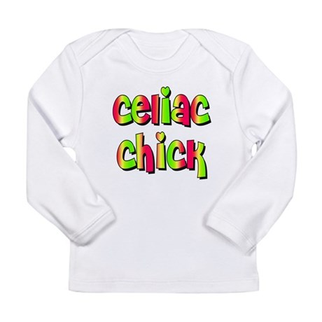 Celiac Chicks Long Sleeve Infant T-Shirt