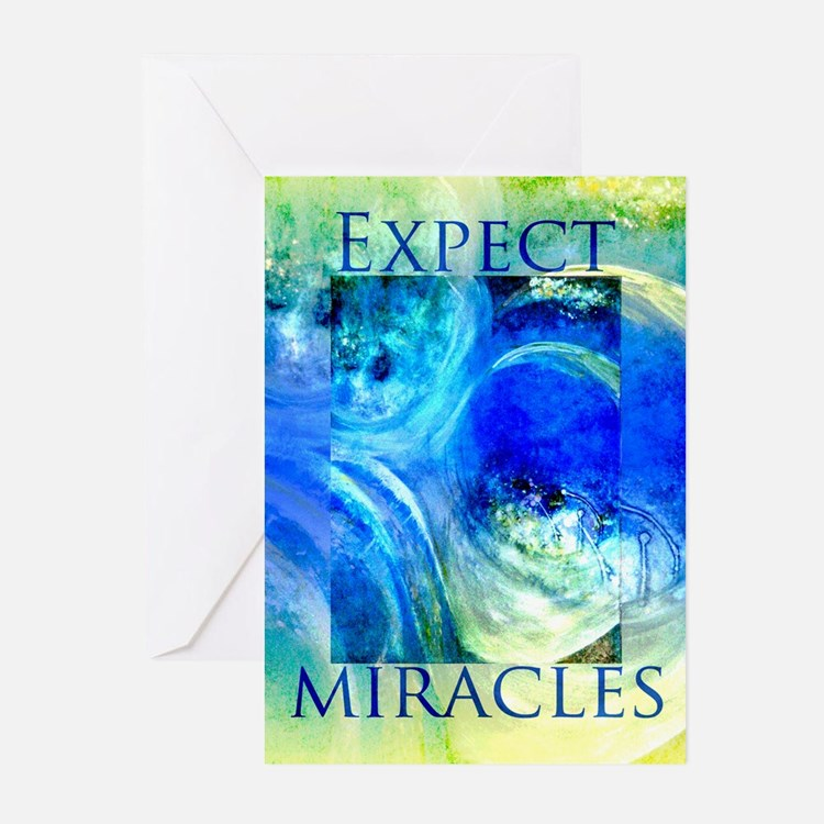 RECOVERY MIRACLE ART CARDS Greeting Cards (Pk of