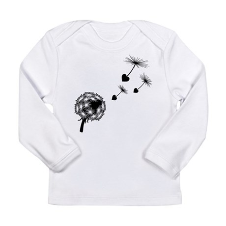 Dandelion Love Long Sleeve Infant T-Shirt