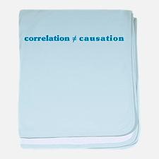 Correlation Causation Infant Blanket