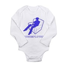 Funemployed Long Sleeve Infant Bodysuit