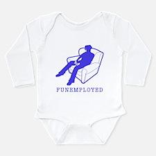 Funemployed Long Sleeve Infant Bodysuit