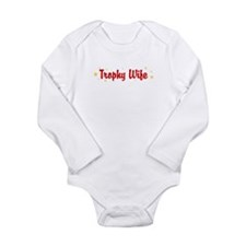 Trophy Wife Onesie Romper Suit