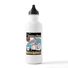 Retro Modern Appliances Water Bottle