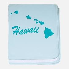 State Hawaii Infant Blanket