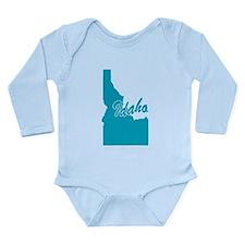 State of Idaho Long Sleeve Infant Bodysuit