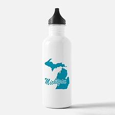 State Michigan Sports Water Bottle