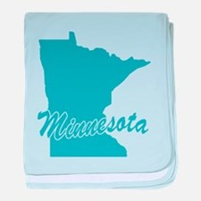 State Minnesota Infant Blanket