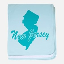 State New Jersey Infant Blanket