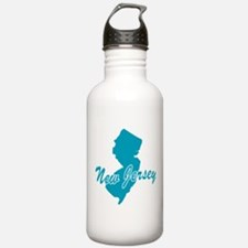 State New Jersey Water Bottle