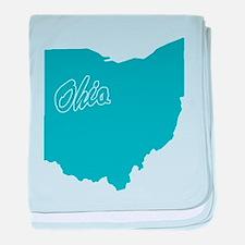 State Ohio Infant Blanket