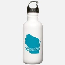 State Wisconsin Water Bottle