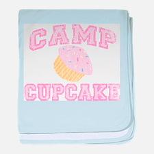 Camp Cupcake Retro Infant Blanket
