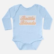 Bottle Blonde Long Sleeve Infant Bodysuit