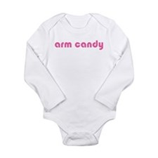 Arm Candy Long Sleeve Infant Bodysuit