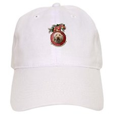 Christmas - Deck the Halls - GoldenDoodles Baseball Cap