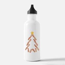 Bacon Christmas Tree Sports Water Bottle
