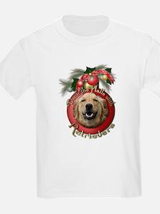Christmas - Deck the Halls - Retrievers T-Shirt