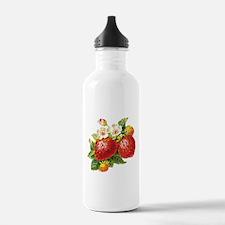 Retro Strawberry Water Bottle