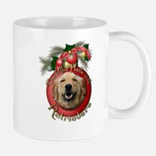 Christmas - Deck the Halls - Retrievers Mug