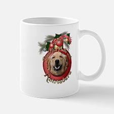 Christmas - Deck the Halls - Retrievers Small Small Mug