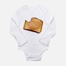Plain Grilled Cheese Sandwich Long Sleeve Infant B